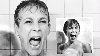 Jamie Lee Curtis Recreated This Iconic Scene From 'Psycho' For Ryan Murphy's 'Scream Queens'