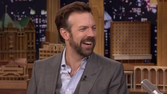 Jason Sudeikis Brought Video Of His Adorable Toddler Son Slam Dunking To 'The Tonight Show'