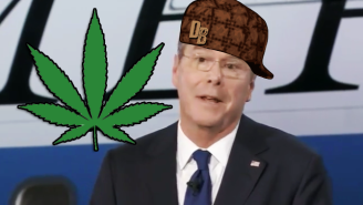 Here's The Proper Reaction To Jeb Bush Admitting That He Smoked Weed