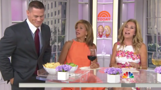Watch Kathie Lee And Hoda Get Hot And Bothered Over John Cena For National Guacamole Day