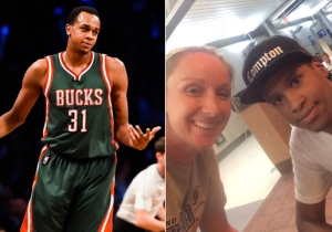Bucks Forward John Henson Informs A Fan They're Hanging Out With An Imposter