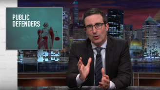 John Oliver Explored The Issue Of Overworked Public Defenders On 'Last Week Tonight'