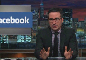 John Oliver Debunks That Facebook Privacy Status Update Your Friends Keep Posting