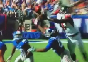 Julio Jones Ended Up With A 'Catch Of The Year' Nominee While Trying To Prevent An Interception