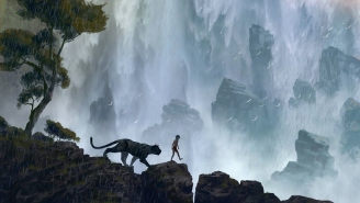 Scarlett Johansson gets her snake on in the new 'The Jungle Book' trailer