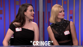 Kat Dennings And Beth Behrs Won This Game Of 'Password' On 'The Tonight Show' By Showing Up