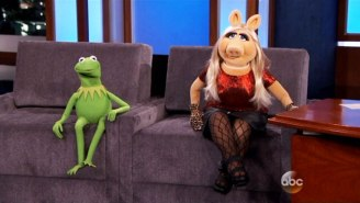 Kermit The Frog And Miss Piggy Had An Awkward Time On 'Jimmy Kimmel Live'