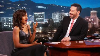 Kerry Washington's Mom May Want A 'Game Of Thrones' Threesome, According To Jimmy Kimmel