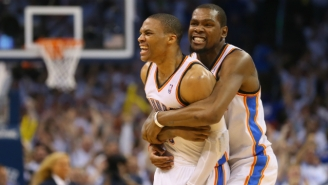 The Amazing Way Kevin Durant And Russell Westbrook Helped The Thunder Equipment Manager Propose
