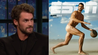 Kevin Love Explains Why He Did NOT Get Drunk While Going Nude For ESPN's Body Issue