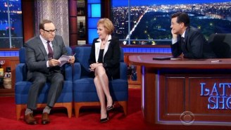 Kevin Spacey Brought Carol Burnett To Tears With A Touching Jimmy Stewart Impression