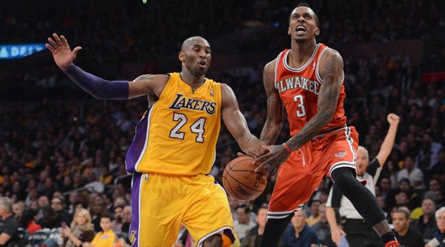 Kobe Bryant, Brandon Jennings