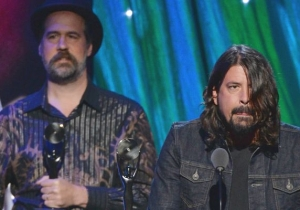 The Living Members Of Nirvana Reunited And Rocked Out Onstage During A Recent Foo Fighters Gig