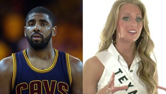 Kyrie Irving Reportedly Impregnated A Former Miss Texas, And This Whole Story Is Just Bizarre