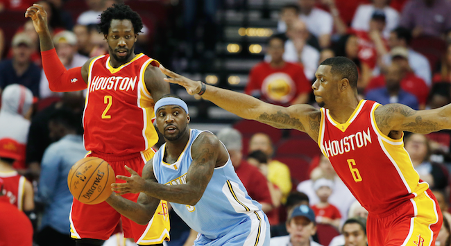 Patrick Beverley, Ty Lawson, Terrence Jones