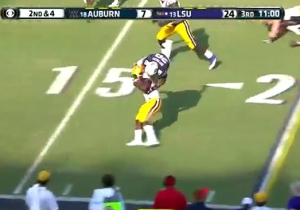 LSU's Leonard Fournette Made His Case For The Heisman With These Unbelievable Runs