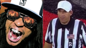 This College Football Ref Was Rudely Interrupted By Lil Jon's 'Turn Down For What'