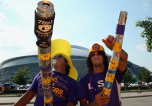 LSU Fans Are Invading Syracuse, And They Plan On Drinking All Of The Booze