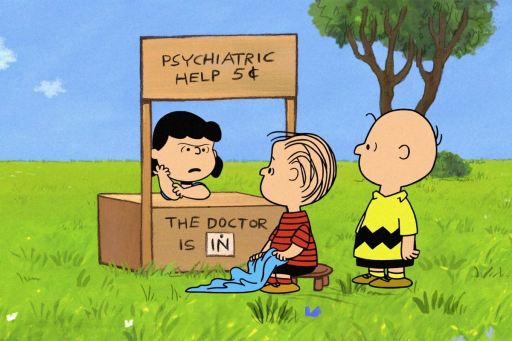 On this day in pop culture history: Lucy of 'Peanuts' raised the price of  her Psychiatric Help