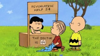 Remember that time Lucy of 'Peanuts' raised the price of her Psychiatric Help?