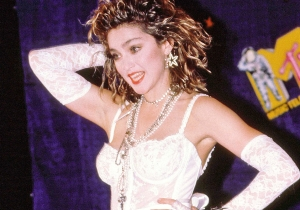 31 years ago today: Madonna performed 'Like a Virgin' at the first VMAs