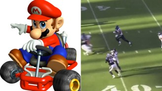Check Out This Spectacular Punt Return Set To Mario Kart Music