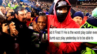 Here's Marshawn Lynch's Mom Ripping Seattle's Offensive Coordinator To Shreds On Facebook