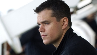 Matt Damon is shirtless and ripped in first photo from new 'Bourne' movie