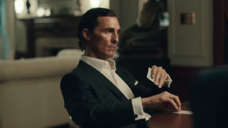 Matthew McConaughey's New Lincoln Commercials Are A Load Of Silent Hooey