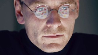Review: Aaron Sorkin dominates the ambitious three-act drama that is 'Steve Jobs'