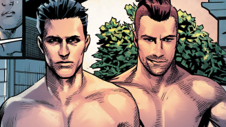 Exclusive: Things get steamy between Midnighter and Grayson in MIDNIGHTER #4