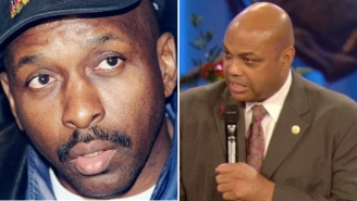 Watch Charles Barkley Deliver An Emotional Eulogy To His Teammate And 'Dad' Moses Malone