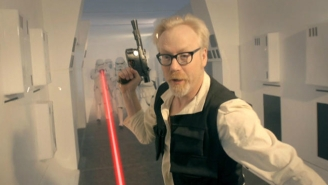 Watch The 'Mythbusters' Take On 'Star Wars' And The Science Of Laser Blasters