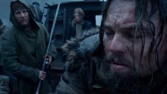 Leonardo Di Caprio and Tom Hardy clash in surreal new trailer for 'The Revenant'