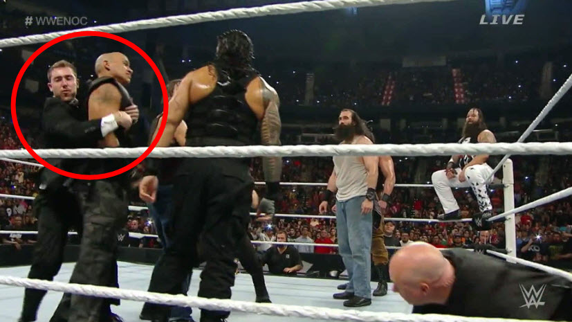 Watch A Fan Hit The Ring To Be The 'Third Man' At WWE Night Of Champions
