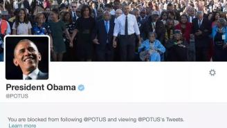 Did President Obama Actually Block Teen Ted Cruz Supporter C.J. Pearson On Twitter?