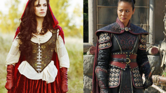 Looks like 'Once Upon A Time' didn't forget about Mulan and Red Riding Hood after all!