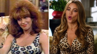 Sofia Vergara Is Dressed Up Like Peg Bundy And WHAT DOES IT ALL MEAN?