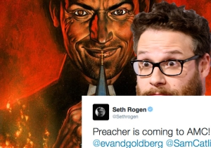 Oh Jaysis! AMC Has Officially Ordered Seth Rogen's 'Preacher' To Series