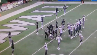 Watch The Refs Fumble And Bumble Colorado's Chance At A Last-Second Play