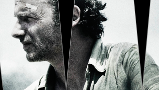 Rick broods, stares into the middle distance in new 'The Walking Dead' Season 6 art