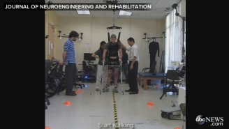 Paraplegic Man Walks With His Own Legs Thanks To Science