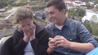 How To Surprise Your Girlfriend: A Roller Coaster Wedding Proposal