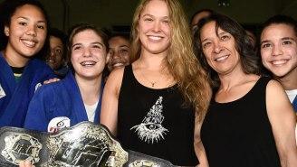 Ronda Rousey's Mom Brutally Slams Her Coach Again, Calls Him An 'Idiot Fraud'