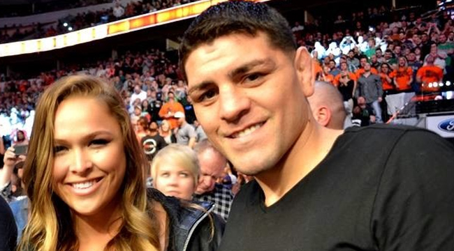 ronda-rousey-nick-diaz-getty