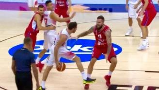 Watch Spain's Rudy Fernandez Dish The Most Beautiful Pocket-Pass You've Ever Seen