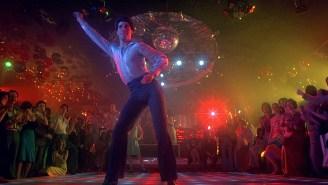 This mashup of movie nightclub scenes is unbelievable