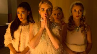 Let's talk about the 'Scream Queens' premiere
