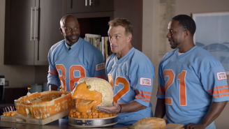 Bo Jackson Is Making Football Legends Do Weird Stuff In These New Ads