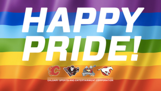 The Calgary Flames Trolled Back Against People Opposing Their Pride Parade Involvement